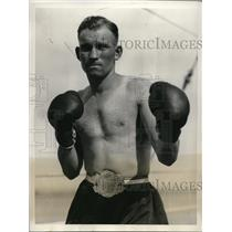 1931 Press Photo CT Pate, lightweight champ in Calif. - nes15250