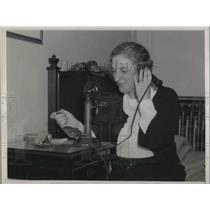1936 Press Photo Mrs. William Sinclair LeVan, Ohio, at the Republican convention