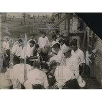 1919 Press Photo Camp Zachary Taylor, Louisville Kentucky