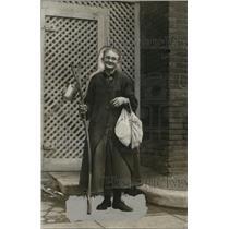 1926 Press Photo Mrs. Lily Hagkins. St. Paul Minnesota worker