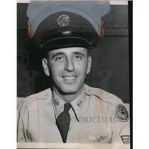 1955 Press Photo John Savka Jr. Pilot