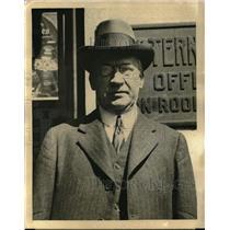 1921 Press Photo  Senhor EL Chermont, Brazilian minister to Japan