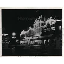 1933 Press Photo Casino at Monte Carlo on French Riviera