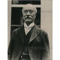 1921 Press Photo Baron Kanda Japanese Houes of Peers Member at White House