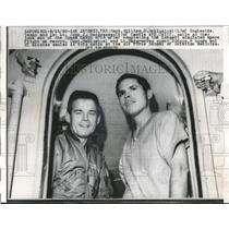 1960 Press Photo SAn Antonio, Tex Capt Wm Habluetzal & 1st Lt JJ Hargreaves