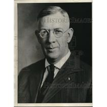 1930 Press Photo John Newton Harmon President McDowell County Bar Association