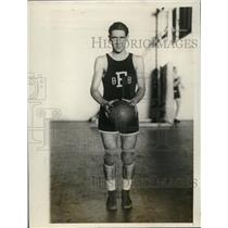 1927 Press Photo Fordham University Guard Daniel Reardon - nes15886