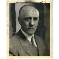 1930 Press Photo John A. Scott of The Happy Hour Man - nec78944
