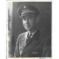 1938 Press Photo Harry W. Fanning of American Airlines