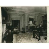 1923 Press Photo A view of the reception room of Pres. Harding Suite at Palsco