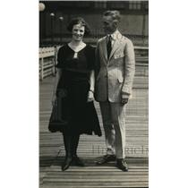1921 Press Photo Joseph Neville And Mary Kelly - nec78336
