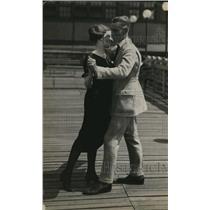 1921 Press Photo  Joseph Neville And Mary Kelly