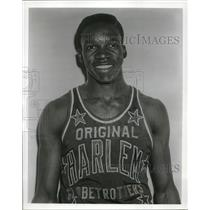 1950 Press Photo Leon Hillard Harlem Globetrotter foward - nes17698