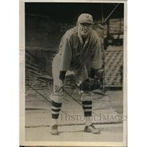 1931 Press Photo Catcher Francis LaVocque joins NY Giants - nes17474