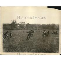 1926 Press Photo re-enactment Battle of White Plains, NY shows Colonial troops