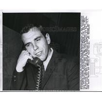 1960 Press Photo St Paul Minn Jack McCartan goalie of US Olympic Hockey