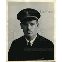 1938 Press Photo American Airlines pilot Charles Warren Allen