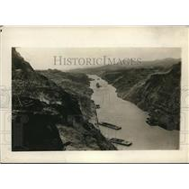 1914 Vintage Photo Birdseye View Culebra Cut from Contractors Hill