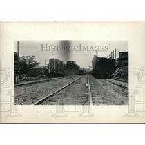 1913 Photo Houses Gorgona Moved by Rail to Make Way for Gatun Lake