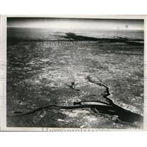 1938 Press Photo Army Air Corps Infrared Photo of Earth From 26000 Feet