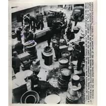 1926 Press Photo Raids launched for Japanese communists & nationalistic Koreans