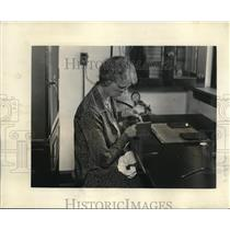 1931 Press Photo Miss Anna Lute is the State Seed Analyst of Colorado