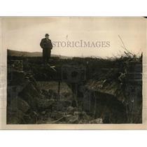 1922 Press Photo Sinn Feiners Destroy Bridge Leading From Fivemiletown into Ross