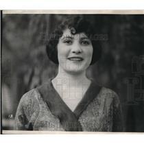 1923 Press Photo Rose Arreola celebrates Spanish heritage in Sonoma Mission , CA