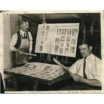 1924 Press Photo Club Newspaper Coming Off The Press