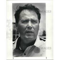 1987 Press Photo Jim Andres air controller