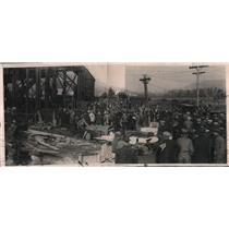 1922 Press Photo Mine disaster at Spangler ,Pa.