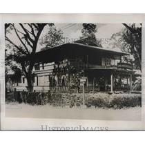 1938 Press Photo Japanese land holdings in Manila Philippines