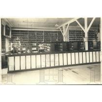 1922 Media Photo Unidentified Prison Library