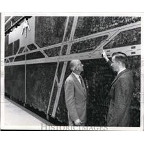 1962 Media Photo VERTICAL PANEL DEPICTS RUNWAY USED BY PILOTS AS THEY PRACTICE