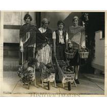 1926 Press Photo Marjorie Morrill, Evelyn A. Royce, Rachel Jackson, A. Groves