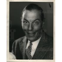 1930 Press Photo Auto racer Karl Dane for Metro Goldwyn Mayer