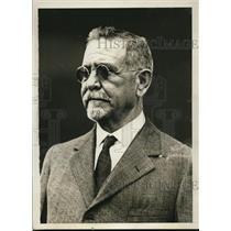 1929 Press Photo Horacio Vasquez President of Santo Domingo expected to arrive