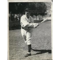 1931 Press Photo Chicago Cubs William Jurges infielder - nes19958