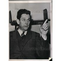 1939 Press Photo Detroit Owen A Knox Civil Rights Federation Pickets Fight