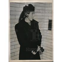 1938 Press Photo LA Calif Mrs Nataska Gorin held ass a Russian spy