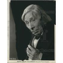 1930 Press Photo George Arliss British Actor Old English Drama Movie Film