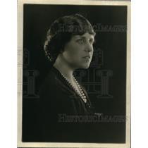 1923 Press Photo Ruth-Helen Davis, Organizer Play-Producing Society New York