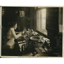 1918 Press Photo Miss C.R. Gurley of Woman Society