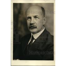 1923 Press Photo Dr. A.C.D. Van de Graeff, Netherlands Ambassador to the U.S.