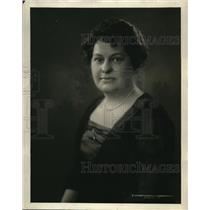 1922 Press Photo Grace Oakley Manager of Hotel Pennsylvania in New York City