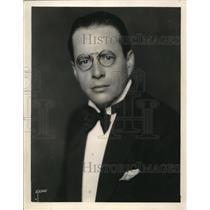 1928 Press Photo Marley R. Sherris, NBC Announcer