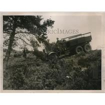 1926 Press Photo Tractor used by British Army for heavy country use