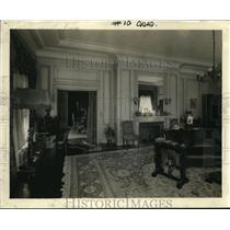 1923 Press Photo Reception Room in Presidential Suite, Palace Hotel