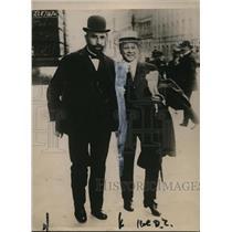 1920 Press Photo Herr Hugo Stinnes German industrialist