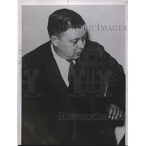 1938 Press Photo William Pittinger of Minnesota
